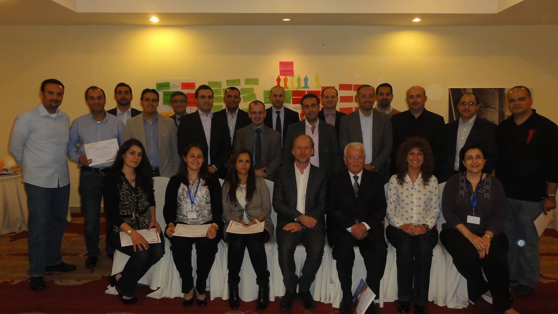 """Senior Executives of Arab Bank become """"Inspiring Leaders and Talented Followers"""""""