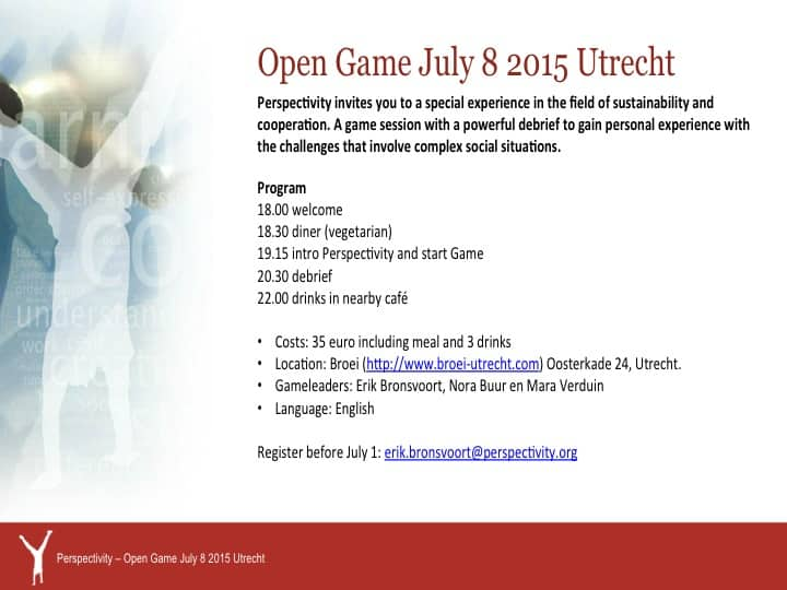 invitation open game