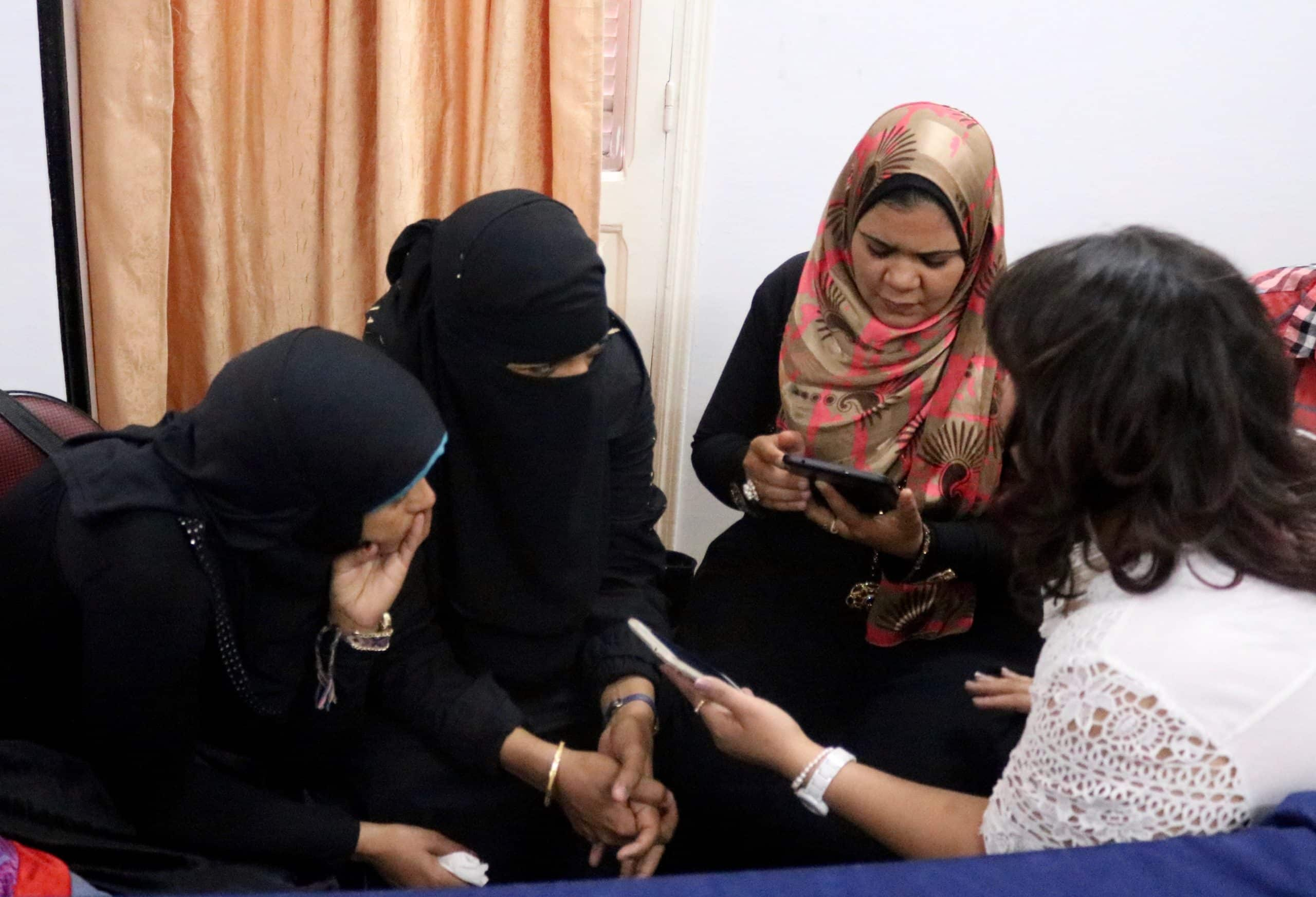 Collecting stories with Caritas in Upper Egypt