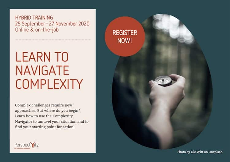 Training: Learn to Navigate Complexity