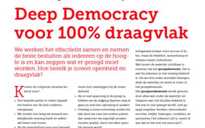 """""""Deep Democracy voor 100% draagvlak"""" artikel in OR Magazine"""
